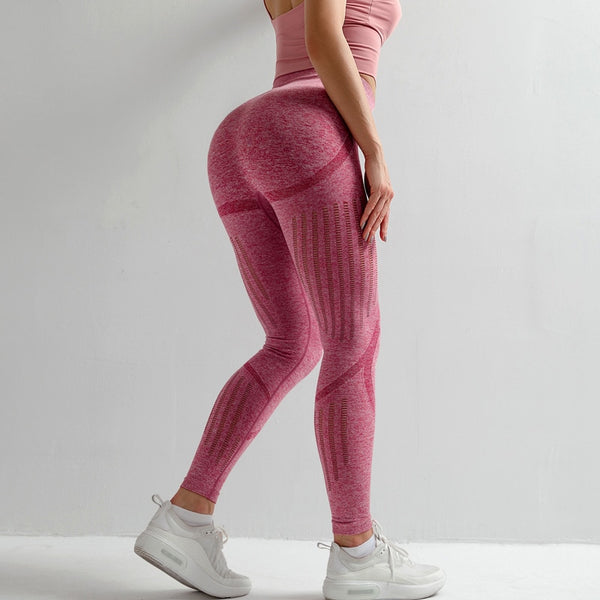 High Waist Seamless Stretchy Yoga Pants