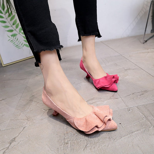 ُElegant Flock Pumps