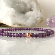 Load image into Gallery viewer, Simplicity Collection - Mini Set - Amethyst + Rose Quartz