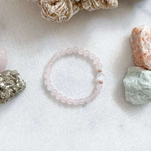 I Am Loved | Rose Quartz + Selenite