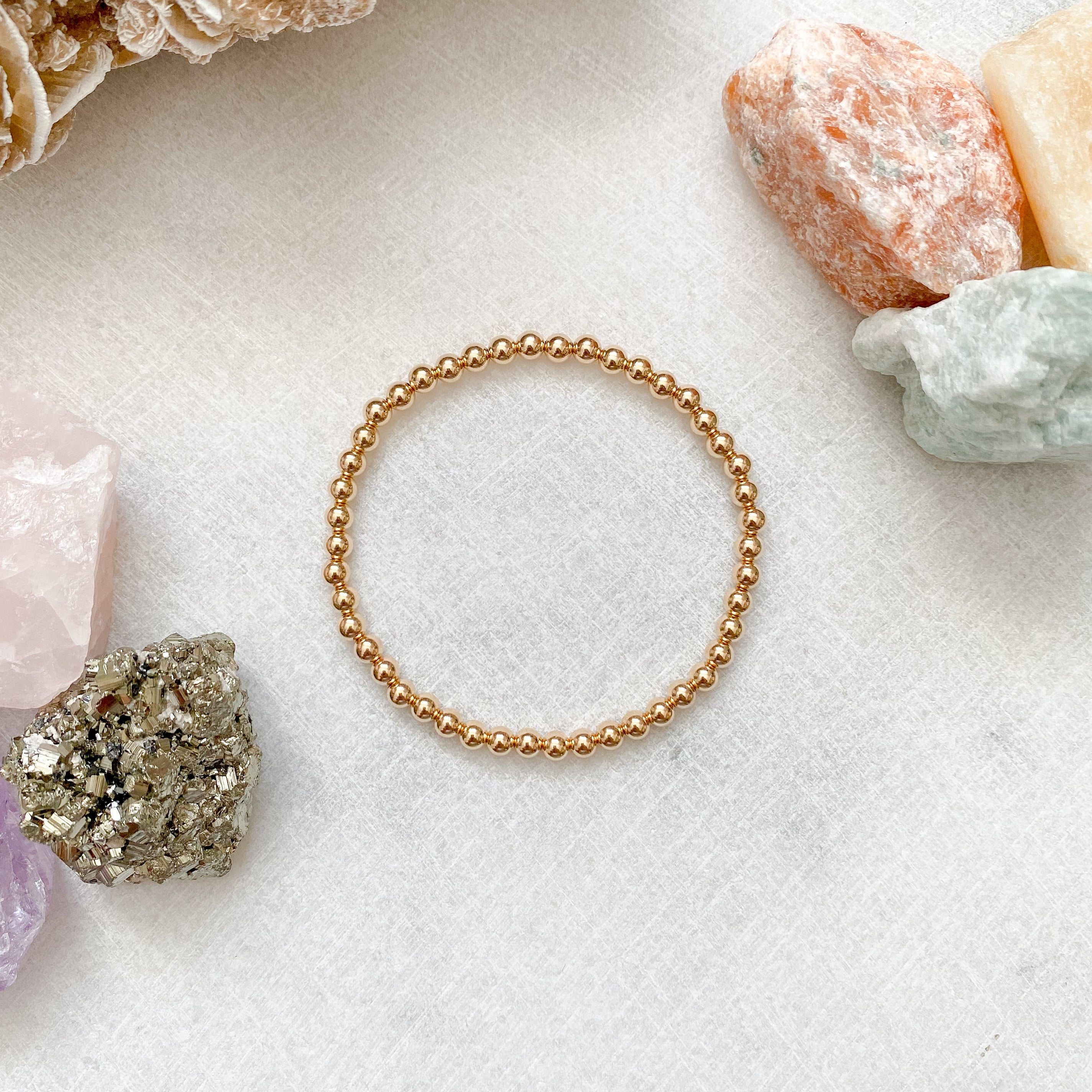 Luxe Stacker Bracelet - 14kt Gold Filled, Rose Gold Filled, Sterling Silver