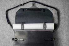 DESIGNER MESSENGER MINIMAL PLUS - black