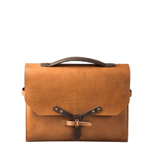 DESIGNER MESSENGER MINIMAL PLUS - toffee