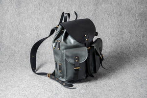 RETRO MOTORCYCLE BACKPACK MINI - black