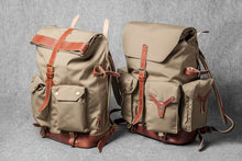 TRAVEL BACKPACK PLUS - khaki