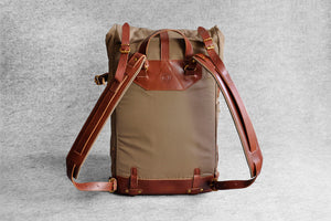 TRAVEL BACKPACK - khaki