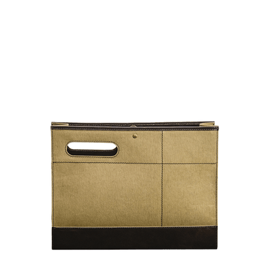 WASHABLE KRAFT PAPER FOLIO - coffee