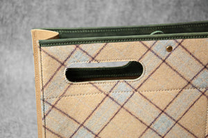 WASHABLE KRAFT PAPER FOLIO WOOL - cream