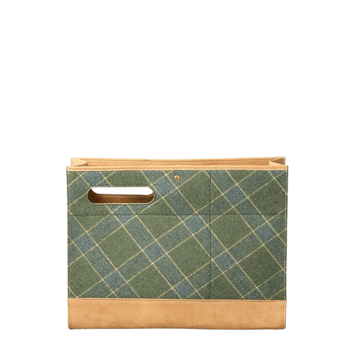 WASHABLE KRAFT PAPER FOLIO WOOL - forest