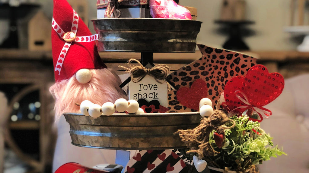 ADOORABLE TIERED TRAY SERIES: VALENTINE'S TIERED TRAY