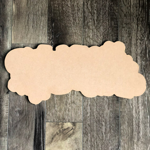 Blank Give Thanks Door Hanger