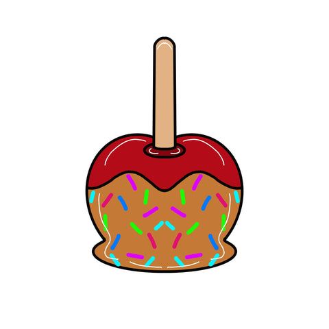 Caramel Apple Door Hanger Templates & Digital Cut Files