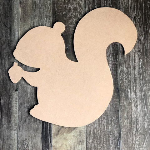 Blank Squirrel Door Hanger