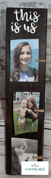 Wood Block Frame