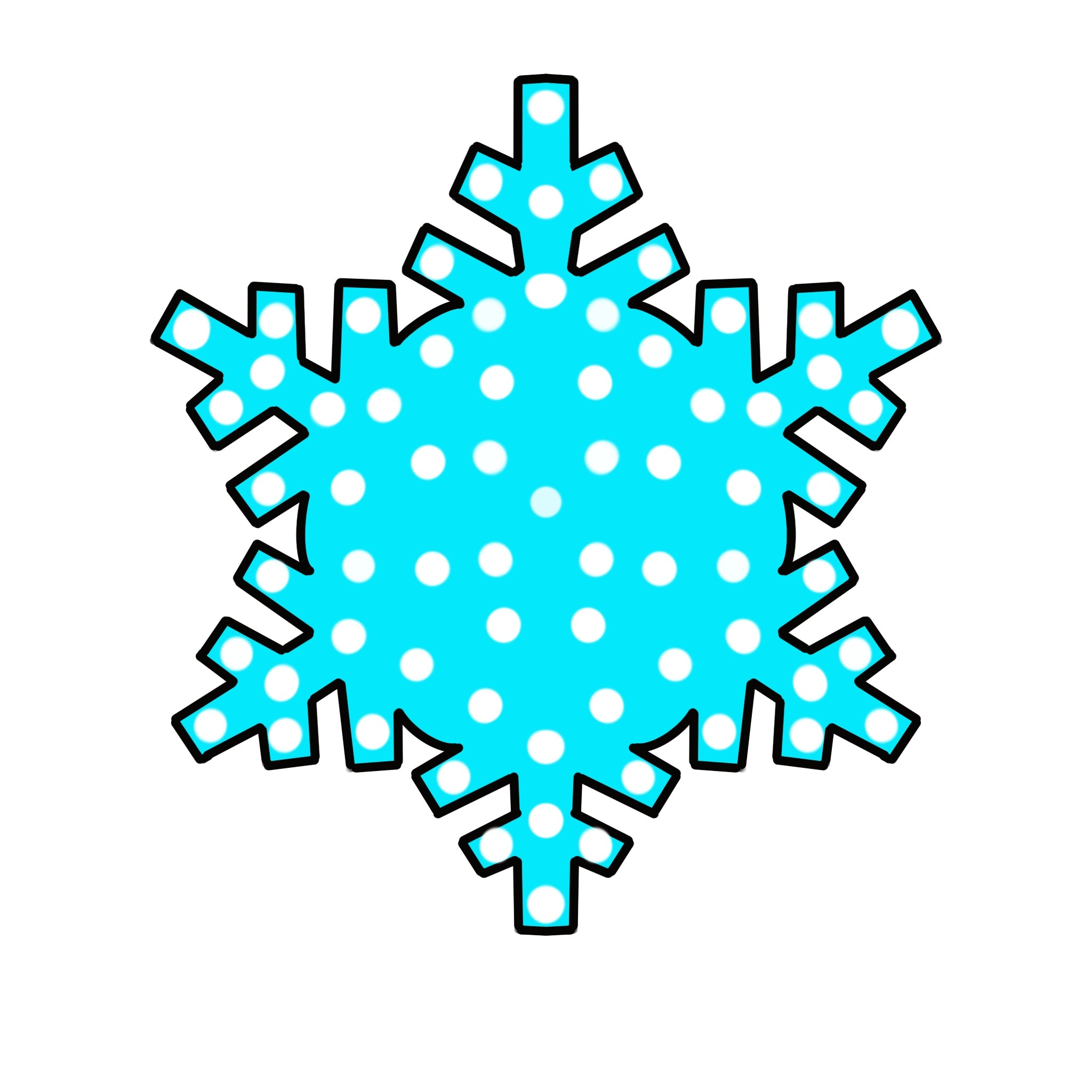 Snowflake Door Hanger Template & Digital Cut Files