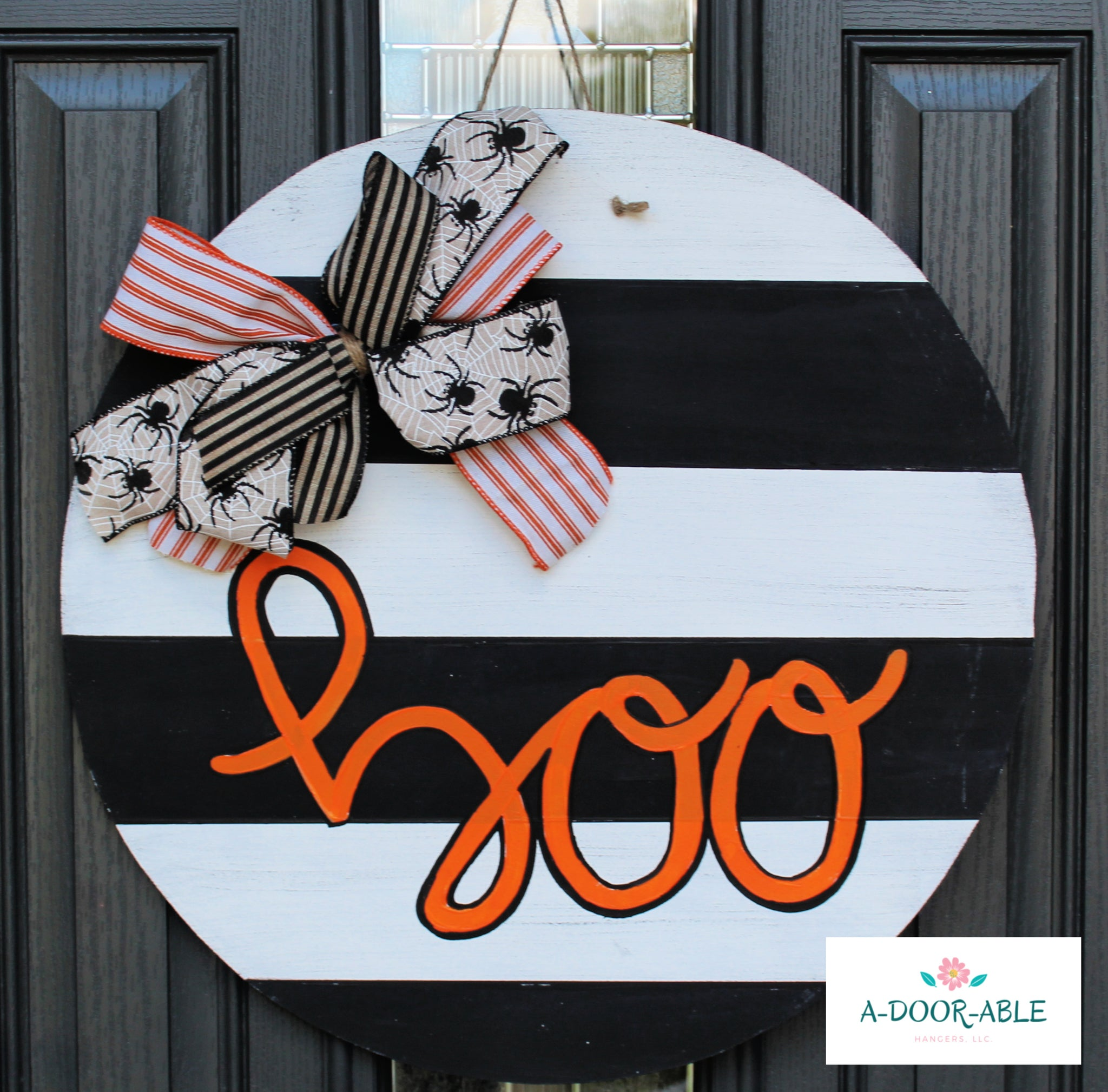 Boo Halloween Door Hanger