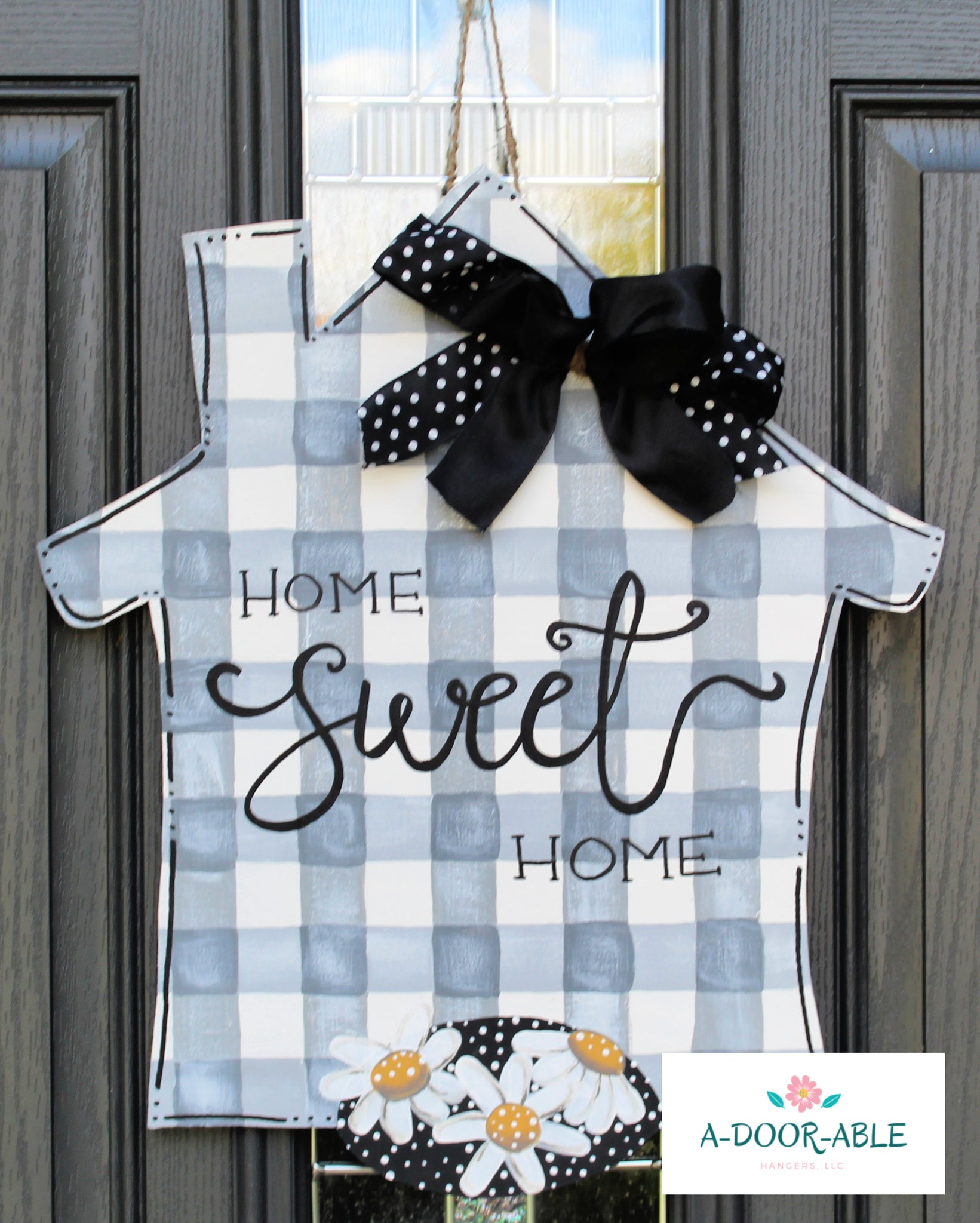 Home Sweet Home House Door Hanger