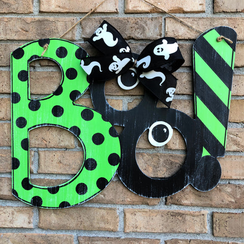 BOO! Halloween Door Hanger