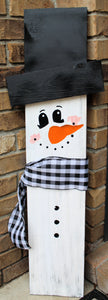 Porch Sitter - Snowman - Large