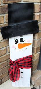 Porch Sitter - Snowman - Medium