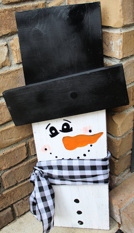 Porch Sitter - Snowman - Small