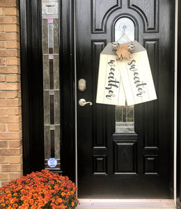 Sweater Weather Door Hanger Tags