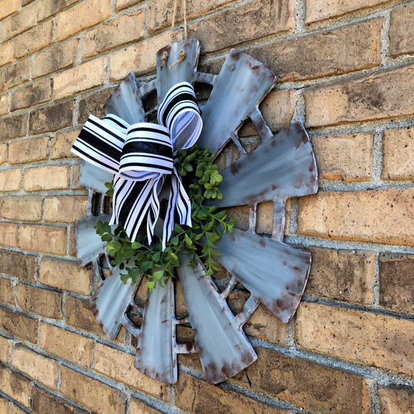 Farmhouse Windmill Door Hanger
