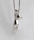 Cat Necklace and Pendant