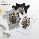 Adorable Owl Printed Shirt