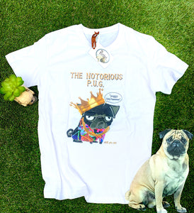 Notorious Pug T-Shirt be Puggled T's