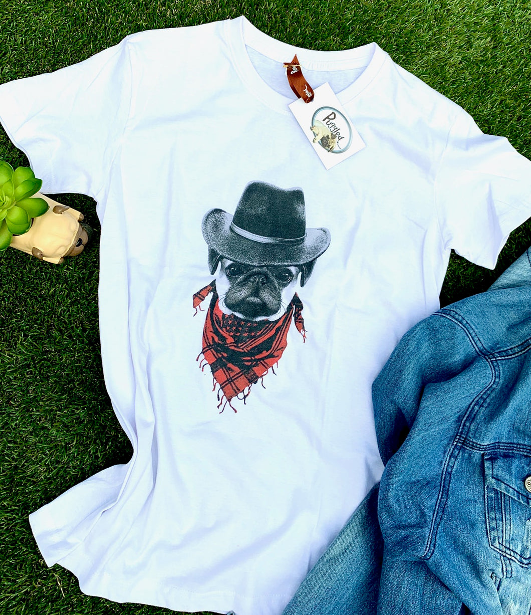 Cowboy T-shirt be Puggled T's