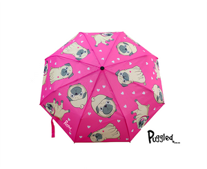 Puggled Umbrella  - exclusive Puggled design