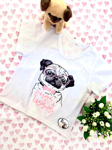 Pugs & Kisses Girls T-shirt
