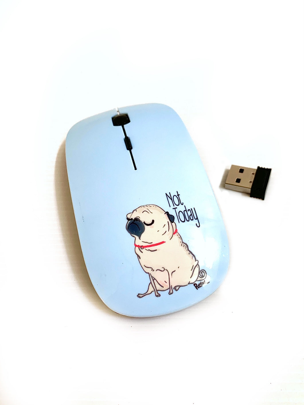 Computer Mouse - Exclusive Puggled Design