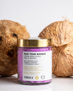 Acai Your Boobies Ingredients Dragon Fruit, Vitamin A and Retinol