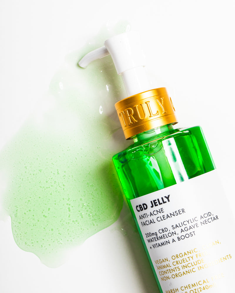 CBD Jelly Anti-Blemish Facial Cleanser