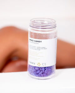 Space Candy R&R Bath Rocks - Truly Beauty