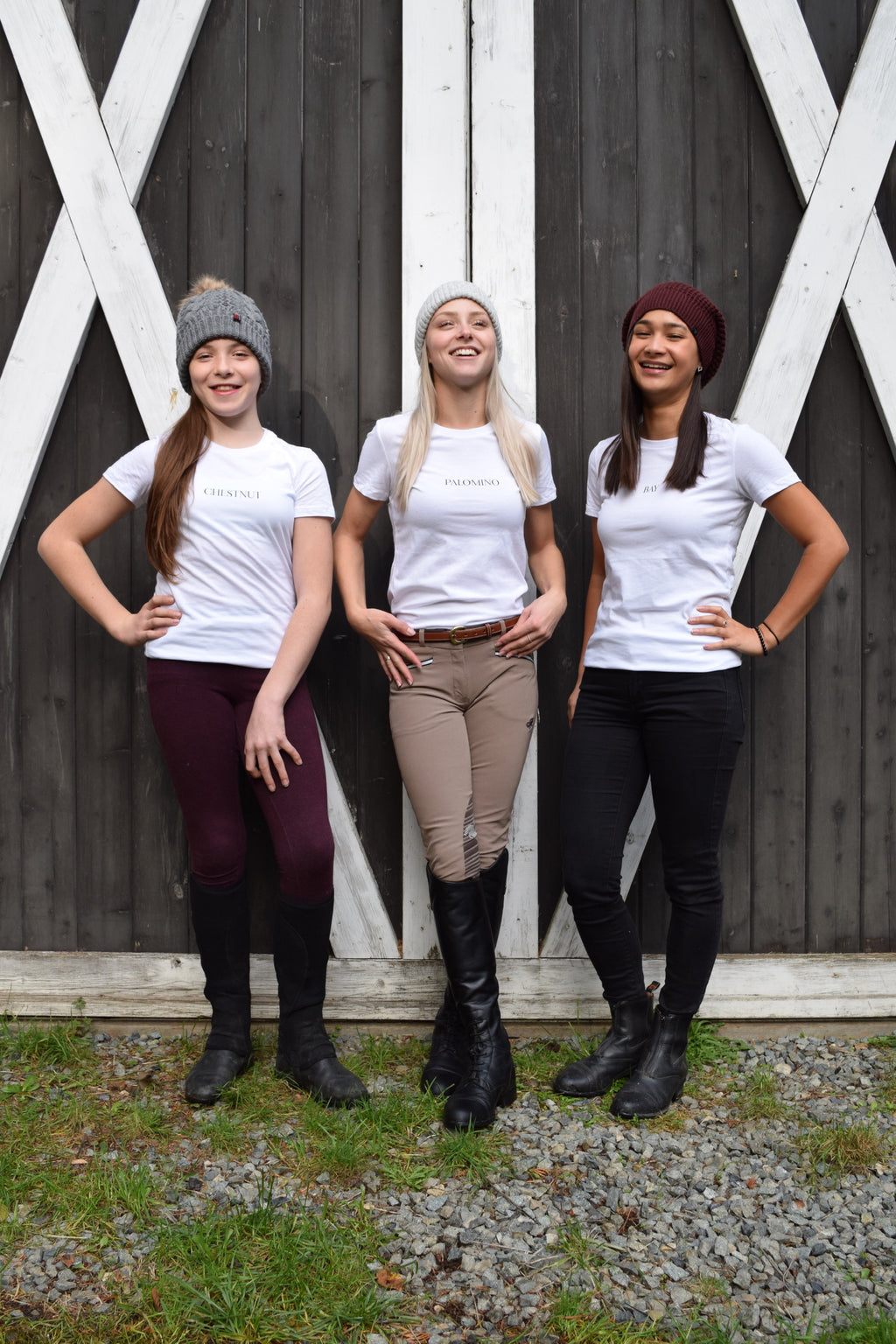 Palomino, Chestnut, Bay, T-shirt, EQ BABES