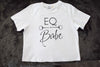 EQ BABE Distressed T-Shirt White