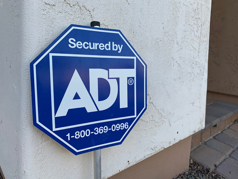 adt security systems sign