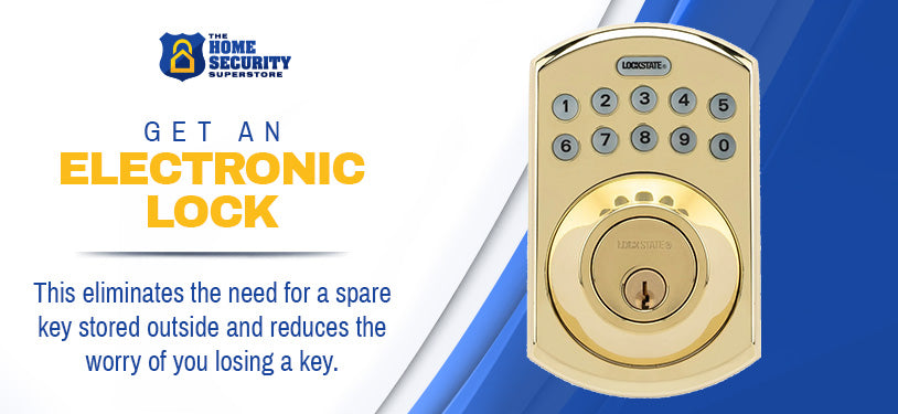 get an electronic lock