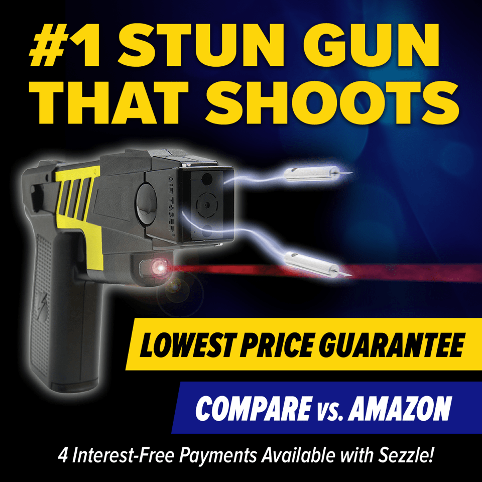TASER® Gun for Sale - Order Discounted Self-Defense Tasers