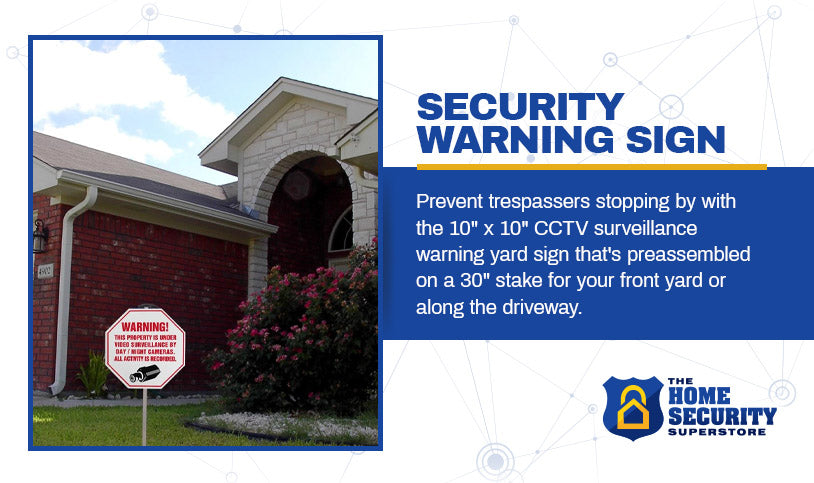 security warning sign