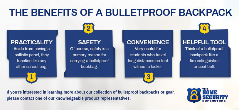 The Benefits Of A Bulletproof Backpack
