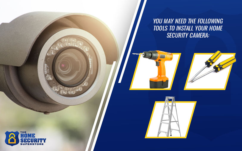 Tools to Install Your Home Security Camera