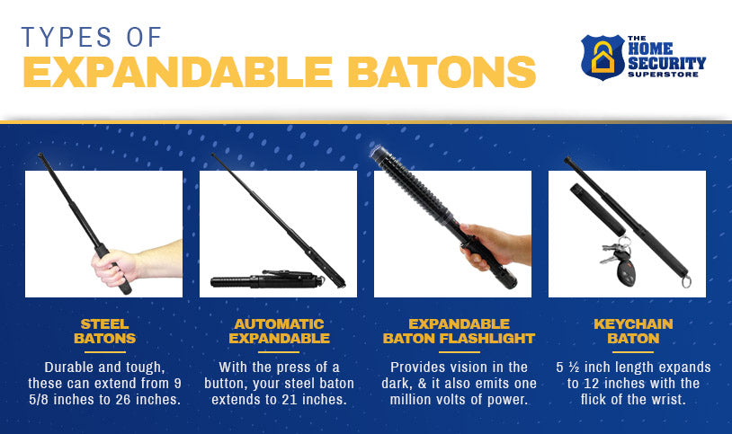 Types of Expandable Batons