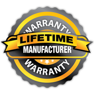 Lifetime Manufacturer Warranty