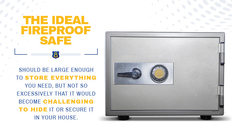 The ideal fireproof safe