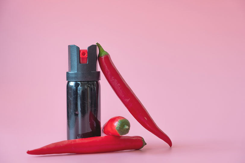 peppers and pepper spray