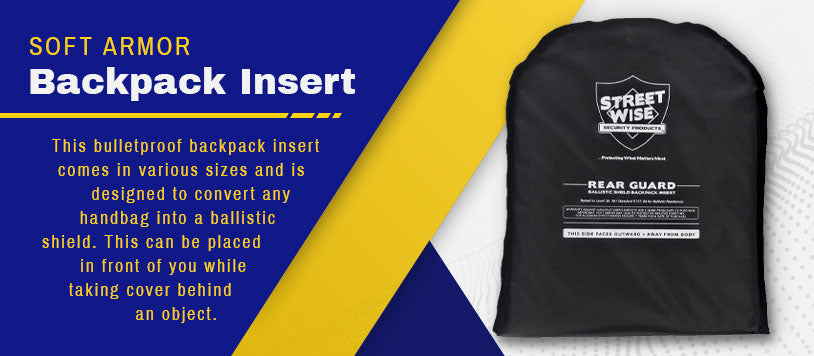 soft armor backpack insert graphic